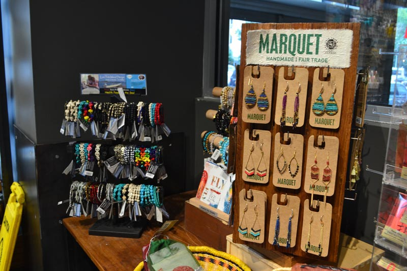 Marquet Fair Trade Product Display