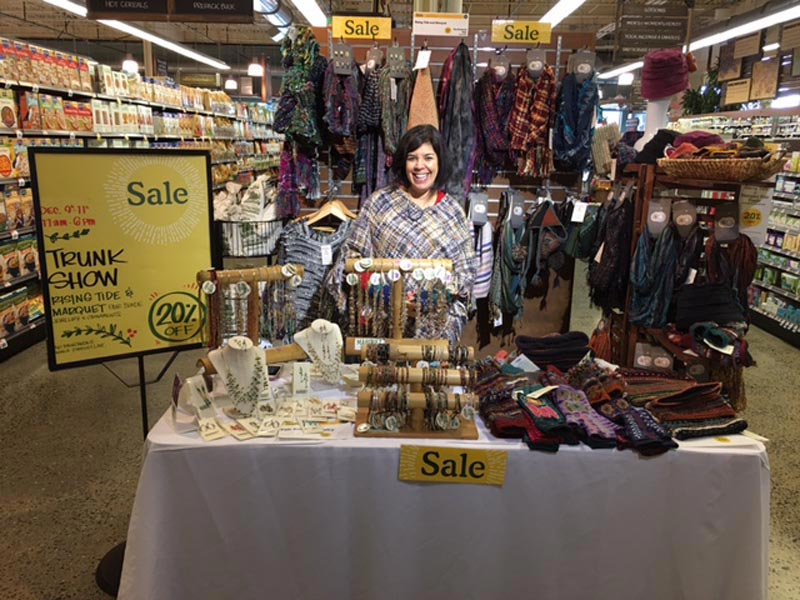 Marquet Fair Trade Trunk Show With Mindy